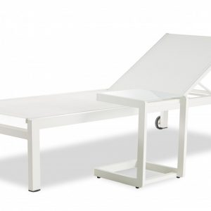 Sunbed+table Santiago Set
