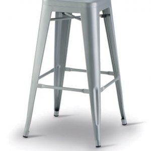 Vintage Metal Indoor Stool