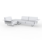 Vondom Delta corner sofa 3 seat right