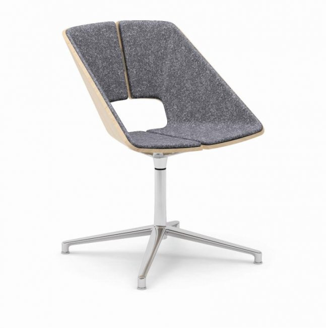Infiniti Hug Swivel Aluminium Base Chair