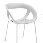 Gaber Moema 69 Dining Chair with Painted Legs