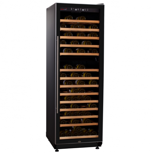 Dual Zone Wine Cooler WL450DF (160-210 BOT) with optimized cooling system